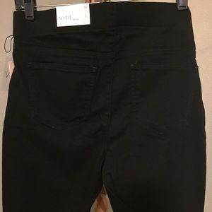 NYDJ Pants & Jumpsuits - NYDJ Women 10 Pull on Skinny Ankle Jean side slit